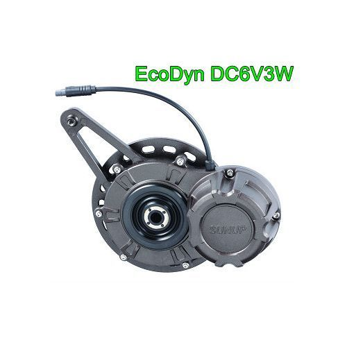 SUNUP EcoDyn DC6V3W (LED Light or USB Charger) Bike Dynamo generator