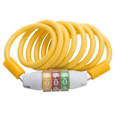 Big Dials Design 2 Wheel Security Combination Cable Lock