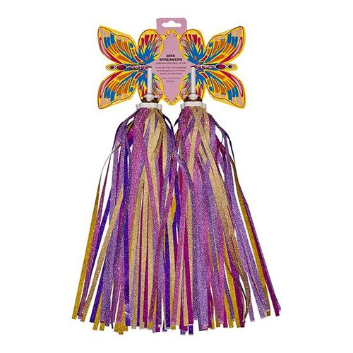 (CK-1387) Streamers / Color : Pink , Purple, Yellow