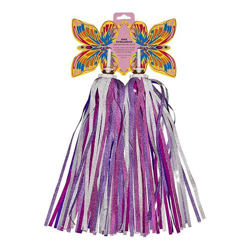 (CK-1387) Streamers / Color : Silver , Pink , Purple