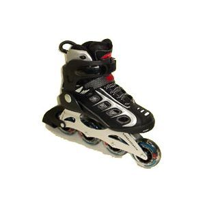 Speed Runner! Special Semi-Soft Boot Aluminium Inline Skates