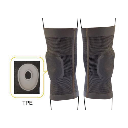 Sport/Medical Knee Brace with TPE & Stabilizer