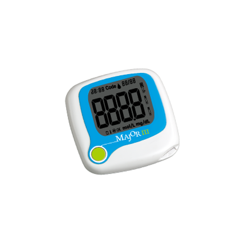MAJOR III Blood Glucose Monitoring System