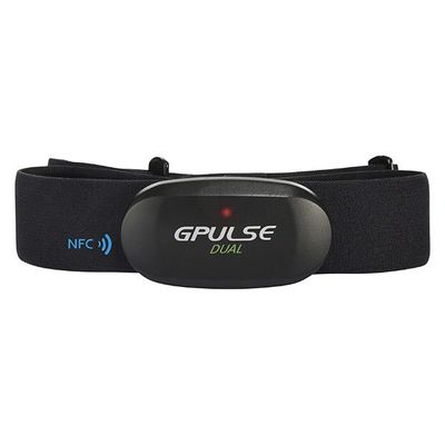 G.PULSE DUAL BLUETOOTH SMART & ANT+ HEART RATE CHEST BELT (LED/ NFC patent)