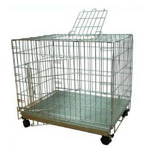 Stainless Steel Folding Cage, Easy storage