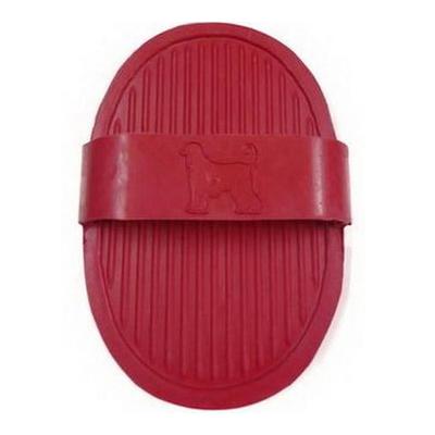 Oval Rubber Brush, Long pin, Massage brush