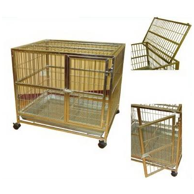 Stainless Steel Dog Cage, Square tube