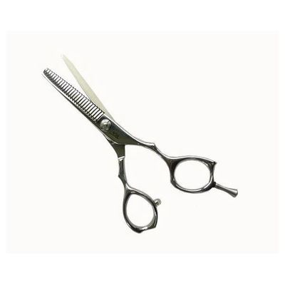 All Stainless Steel Scissors, Single thinning, Professional trimming tools, Barber scissors
