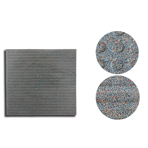 DIY Jigsaw rubber mat for fitness centers BR-005