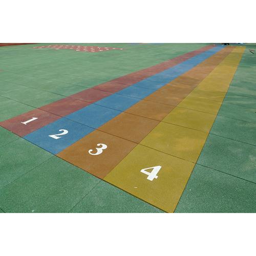 DIY Jigsaw rubber mat for fitness centers BR-006