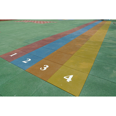 DIY Jigsaw rubber mat for fitness centers BR-006