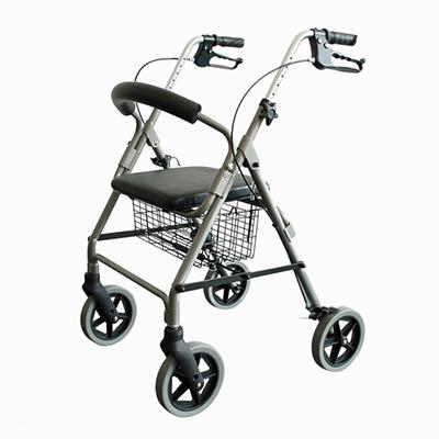 Walking Aid Aluminum Rollator YCH-883