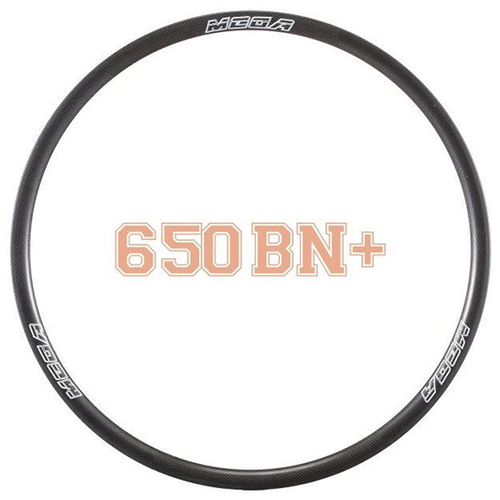 MTB Rims Mountain Bike Carbon Tubeless Clincher Rims 25mm MR650BN+ (27.5)