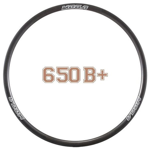 MTB Rims Mountain Bike Carbon Tubeless Clincher Rims 25mm MR650B+ (27.5)