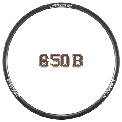 MTB Rims Mountain Bike Carbon Clincher Rims 25mm MR650B (27.5)