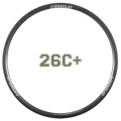 MTB Tubeless Clincher Rim MR26C+