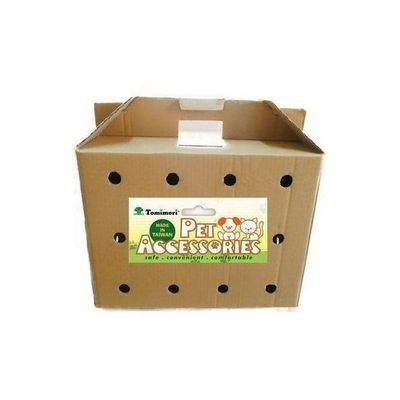 Cardboard Pet Carrier, Shelters, Pet shop, Easy assembly