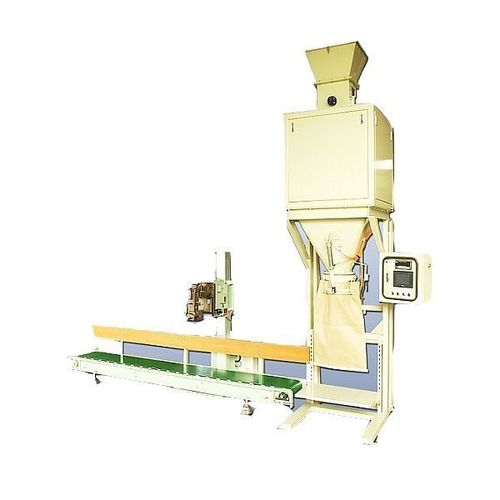 Semi automatic packing machine P400E for plastic particles