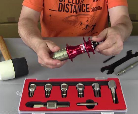 Novatec D772SB Bearings Replacement