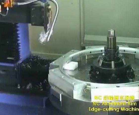 NC Aluminum Edge Cutting Machine