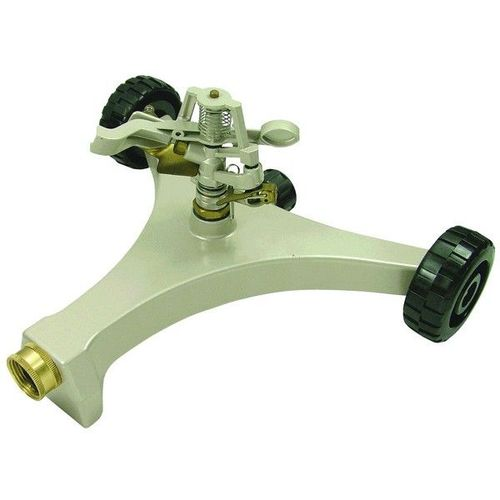 Metal Sprinkler Heavy Two-Wheel Metal Base (141902)