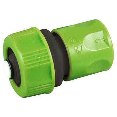 ¾'' Hose Quick Connector with Stop Function (172206)