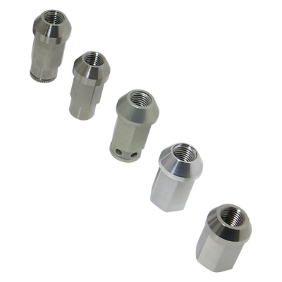 CNC Titanium Wheel Nuts of Car