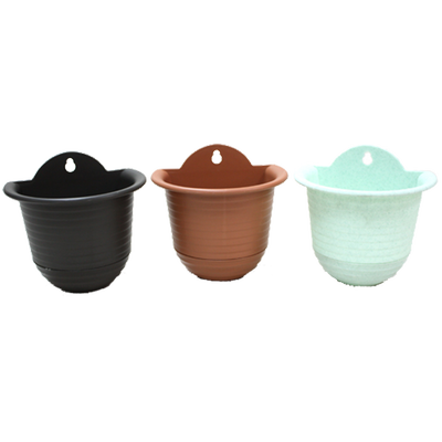 L076 Semi-Circle Wall Hanging Pot