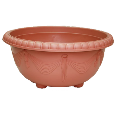 EMB600G Embossed Curtain Lotus Pot