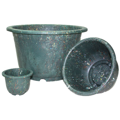 DA060001 Green Round Pot