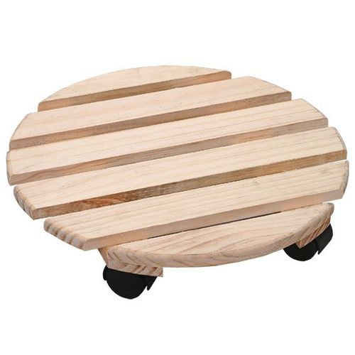 ROUND ROLLING PALLET DOLLY P-9640