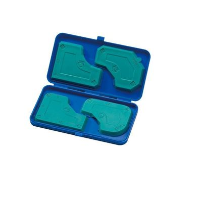 PW-150-4BS    HANDY SCREEDING PADS SET W/PLASTIC CASE