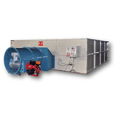 Direct hot-air dryer