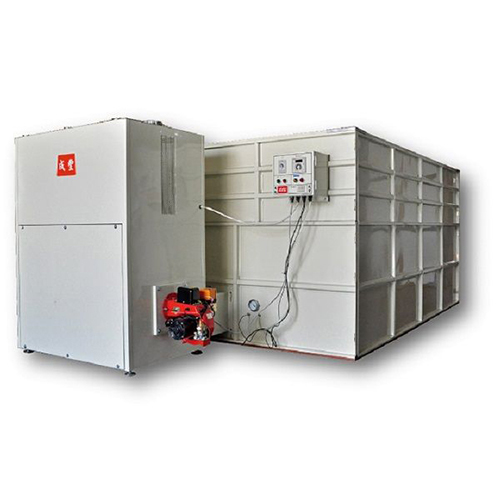 Indirect hot-air dryer