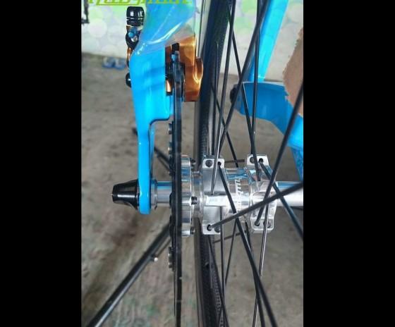 Hubsmith Mini Hub X Birdy Bike