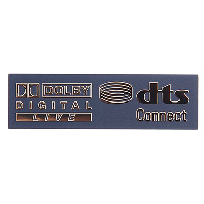 Metal Surface Treatment Nameplate & Emblem A8-P10-01