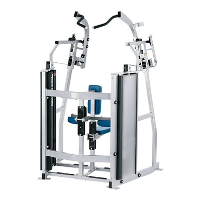 china commercial exercise equipment HAMMER STRENGTH ISO-LATERAL FRONT PULLDOWN