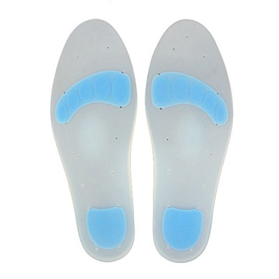 Silicone Full Insole w/Met Pad-FS-7001-A