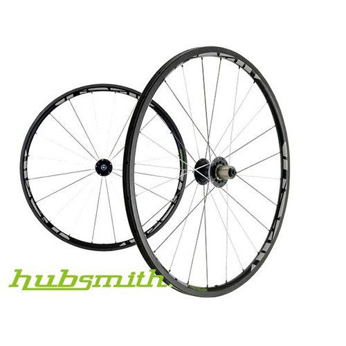 (NEW) HS-Titan CT28 Fusion Spokes 700C UD Carbon Wheel Set