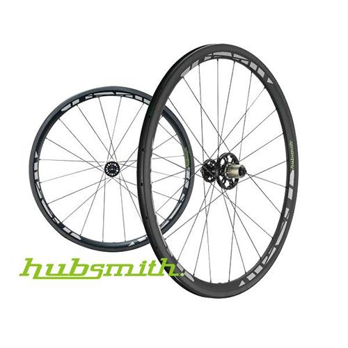 (NEW) HS-Hades CC38 Inertia 700C C+C UD Carbon Wheel Set