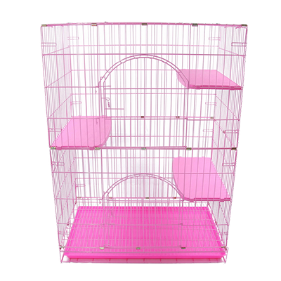 Foldable Cat Cage (Double Layer)