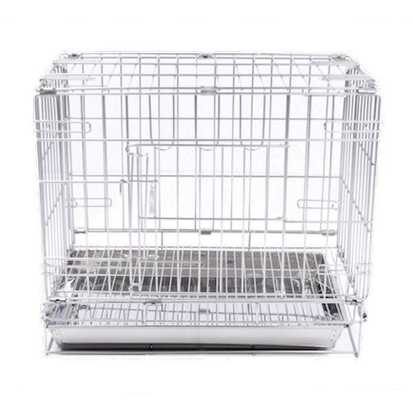 Foldable Dog Cages (Stainless Steel)