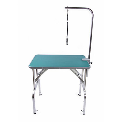 Adjustable Height Dog Grooming Tables (Stainless Steel)