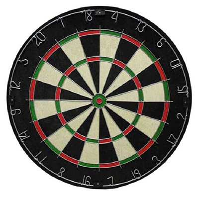 RICE STRAW DARTBOARD - N10301