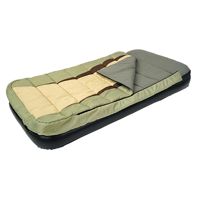 Comfort Sleeping Bag And Inflatable Bed  126007
