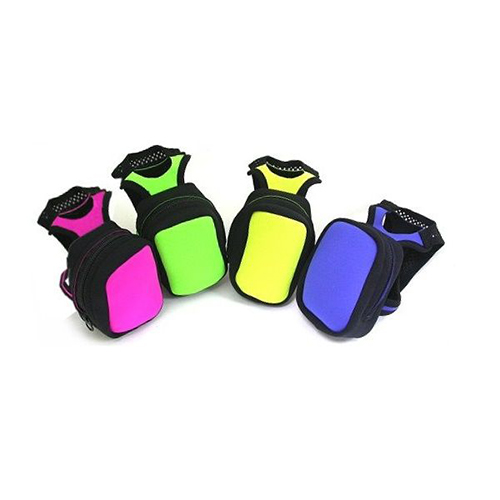Hand-held water bottle pocket