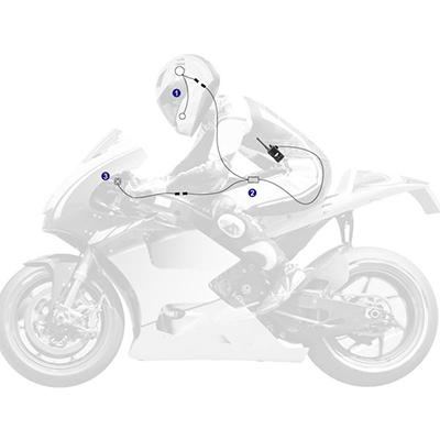 Motorcycle Radio System MR-100