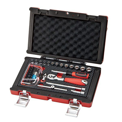37PC-1/4 DR. 6PT SOCKET WRENCH SET