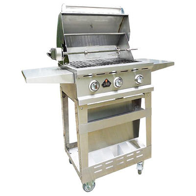 WL33000 Charcoal & Gas Grill