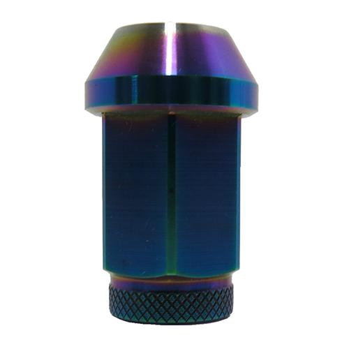 Titanium Hexagonal Nut PVD Burn Blue